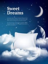 Night Dream Pillow. Advertizin...
