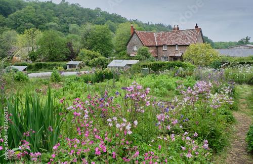 Leinwand Poster English country garden