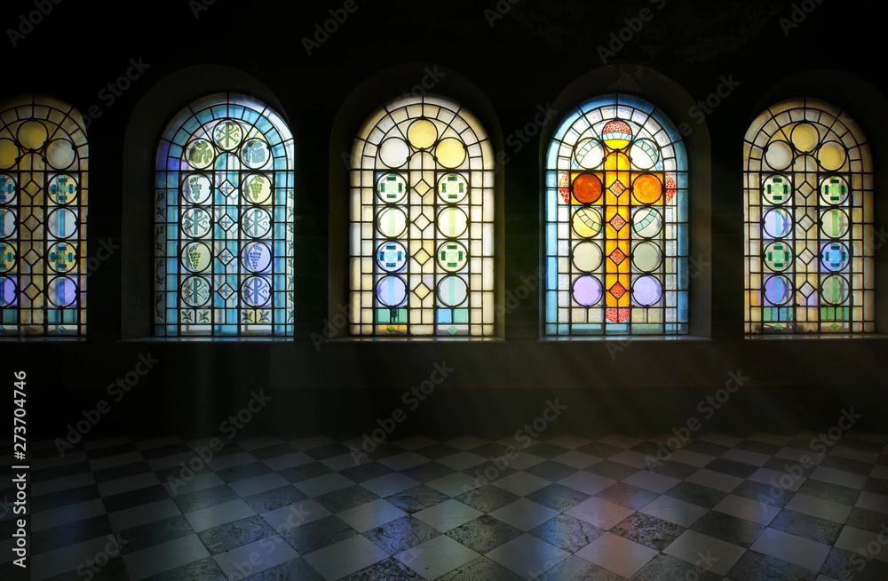 Fototapety, obrazy: stained glass window