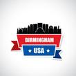Birmingham skyline - Alabama, United States of America, USA