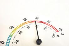 Rise Of Temperature Concept. C...