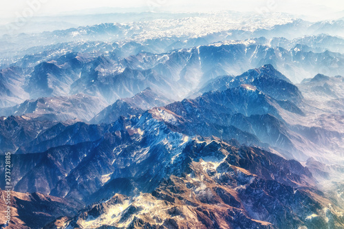 Himalayian Mountain range Wallpaper Mural