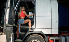Girl On The Truck