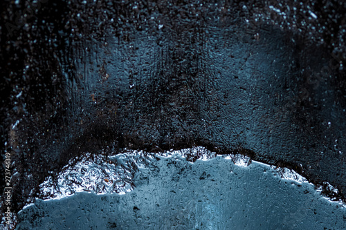 crude oil surface background textured Canvas-taulu