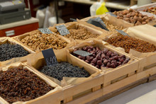 Assortment Of Dry Fruits And N...