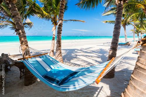 Perfect tropical beach Tablou Canvas