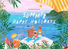 Summer Family Happy Holidays! ...