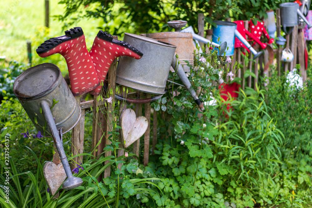Fototapety, obrazy: Bunter Garten