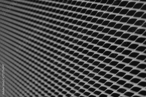 Türaufkleber Darknightsky Technik Waben Muster Struktur