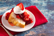 Slice Of Strawberry Short Cake...