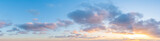 Fototapeta Na sufit - Gorgeous Panorama twilight sky and cloud at morning background