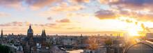Amsterdam Skyline Panorama His...
