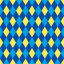 Seamless Harlequin Pattern Bac...