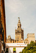 The Giralda seen from the balcony of a house in Seville