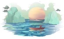 Landscape Painting Illustration