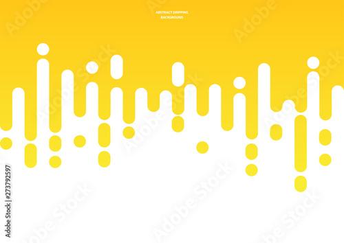 Fototapeta Abstract mustard or honey dripping background