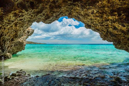 Photo  Grote Knip beach, Curasao Tropical beach
