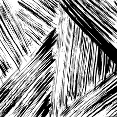 Brush grunge pattern. White and black vector.
