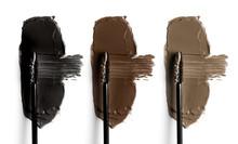 Set Of Eyebrow Mascara Swatche...