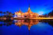 Leinwanddruck Bild - temple or pavilion or castle buddha religion, Thailand