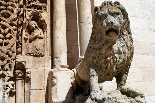 Photo Altamura (Bari) - Dettaglio del Portale del Duomo Cattedrale