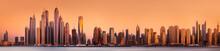 Dubai Marina Bay View From Pal...