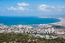 Haifa Bay, Israel.