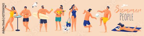 Obraz na plátně Summer holidays