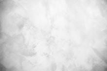 Abstract White And Gray Tone Background Aged Concrete Texture