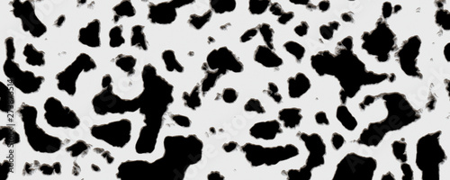 Wall Murals Cow 3d illustration blackhole wall crack texture background