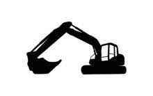 Excavator Logo Template Vector...
