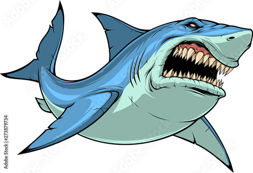 Fotografia Fierce Shark Attacks
