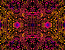 Space Psychedelic Trippy Abstr...