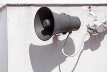 Speaker For External Broadcast...