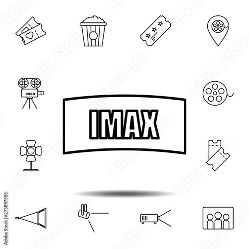 Photo  Imax, cinema icon