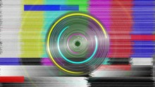 Colorful Static And Spinning C...