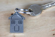 House and Key, New House Concept, House Key And Keychain