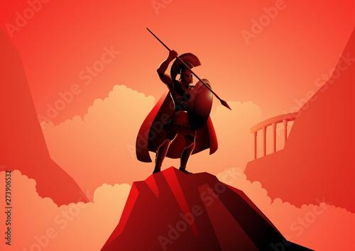 Fotografía Ares the Greek god of war