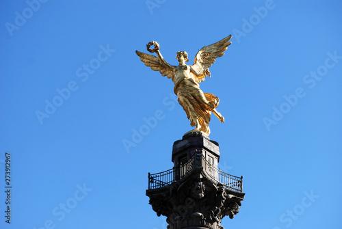 Ángel de la Independencia en la Ciudad de México.