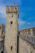 Castello Scaligero Di Sirmione (Sirmione Castle), from 14th Century at Lake Garda, Sirmione, Italy