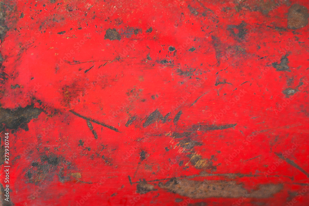 Fototapety, obrazy: Rusty metal sheet, old grunge metal texture use for background, industrial texture for abstract Background. Iron surface rust.