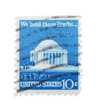 Jefferson Monument Stamp