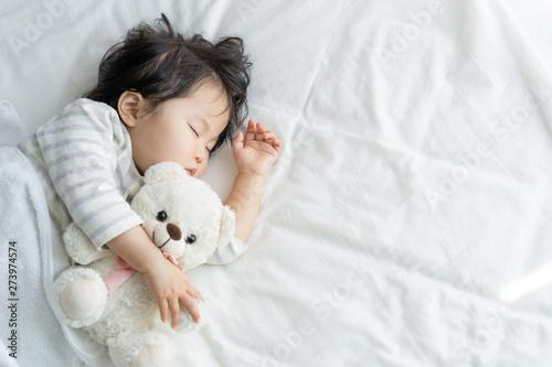 Photo 子供 昼寝 睡眠