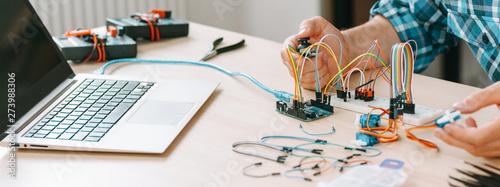 Fotografía  Electronic engineering experiment
