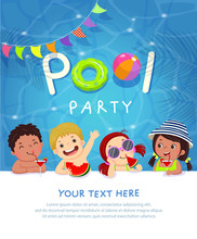 Pool Party Invitation Template...
