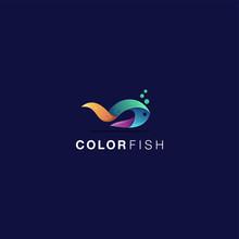 Color Fish Logo Design Awesome Inspiration