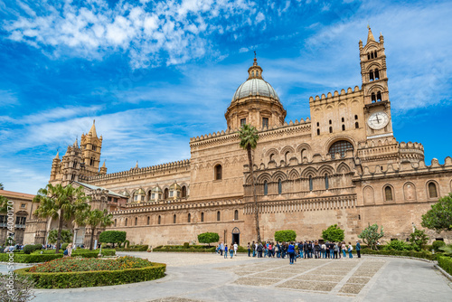 Photo sur Aluminium Palerme The Cathedral of Palermo in Sicily, Italy