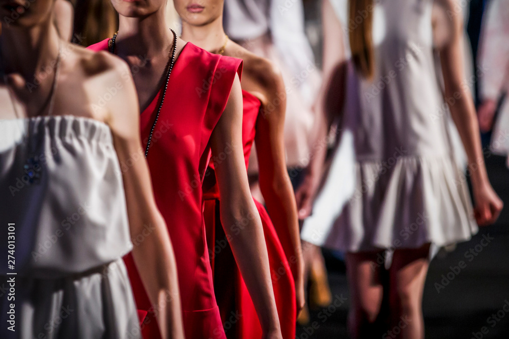 Fototapety, obrazy: Fashion Show, Catwalk Event, Runway Show themed photo.