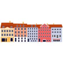Nyhavn Copenhagen Denmark Land...