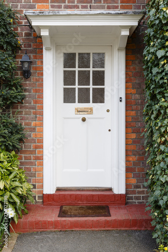 Photo Front door to English house